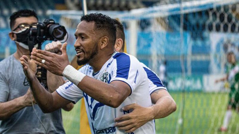 Volante Jhonnatan poderá ser novidade no Paysandu diante do Botafogo-PB