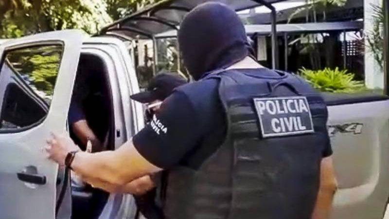 O homem preso hoje era escrivão substituto do Cartório da Cidade de Santarém Novo