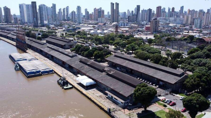 Para a realização do Porto Futuro II Serão restaurados e revitalizados os Armazéns 04, 04-A, 05, 06, 06-A.