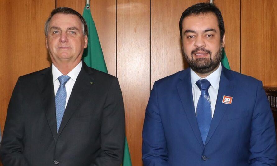 Jair Bolsonaro e Cláudio Castro, atual governador do Rio de Janeiro.