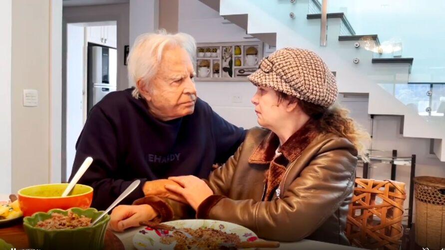 Cid gravou vídeo ao lado da atual esposa, Fátima