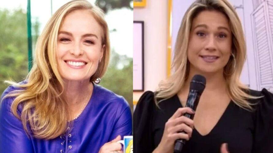 Angélica foi substituída por Gentil após decisão da Globo