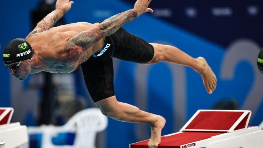 Bruno Fratus conquistou a primeira medalha olímpica