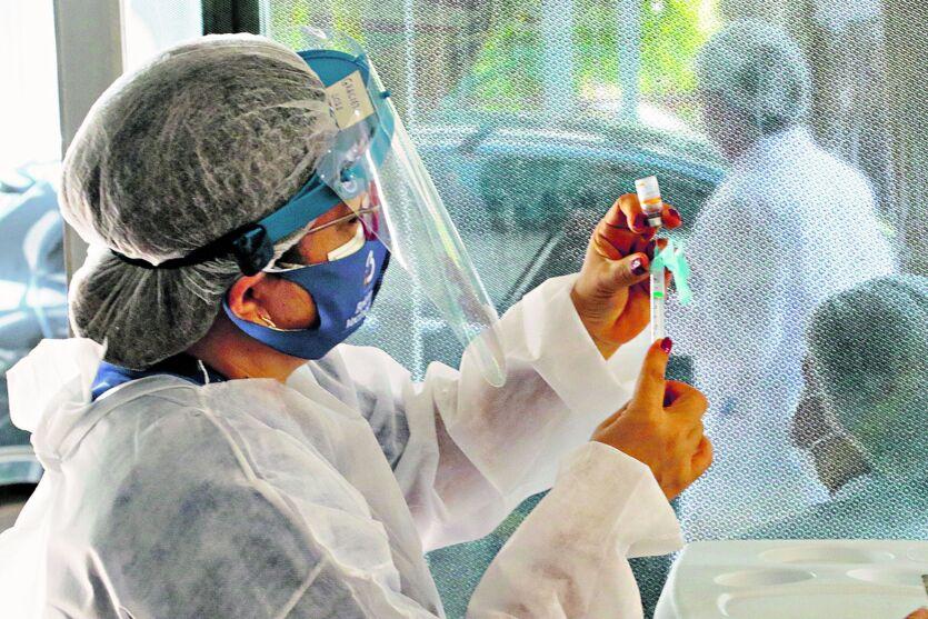 Já são 964.378 doses de vacinas aplicadas até o dia 20 deste mês em Belém