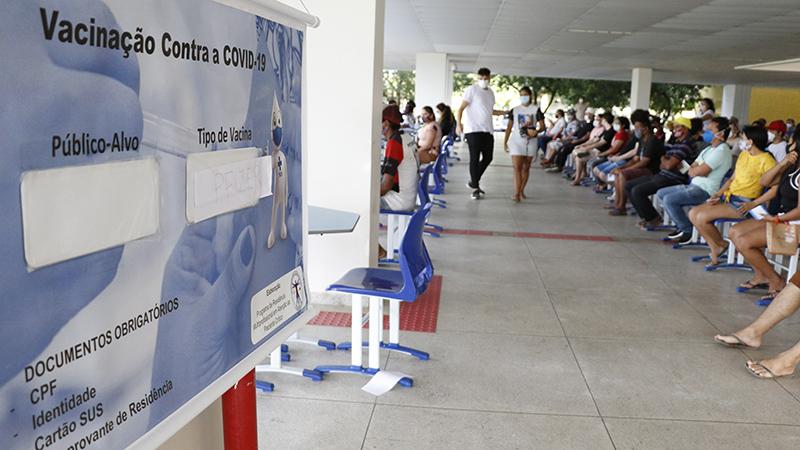 Vacinação em Belém terá uma pausa no final de semana
