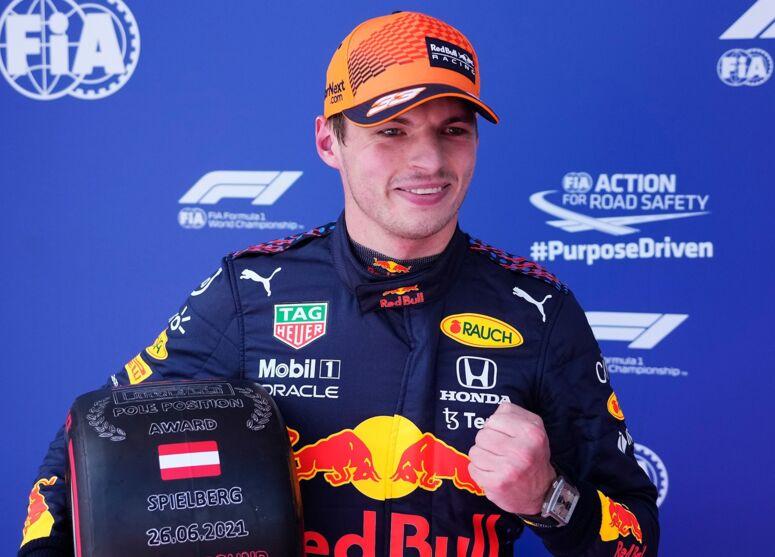 Imagem ilustrativa da notícia: Max Verstappen garante pole position no GP da Áustria