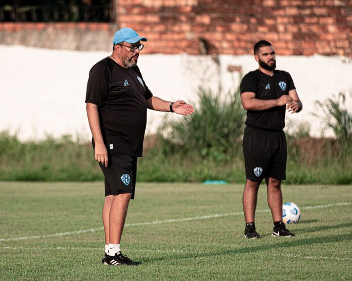 Com Wilton Bezerra no comando técnico, Paysandu seguirá seu projeto do acesso na temporada.