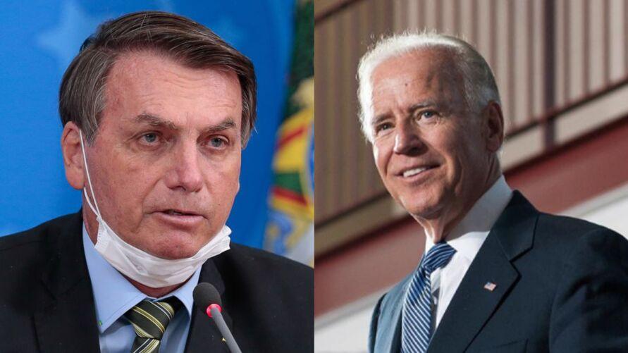 Imagem ilustrativa da notícia: Biden sonda Bolsonaro para cúpula da vacina contra a Covid