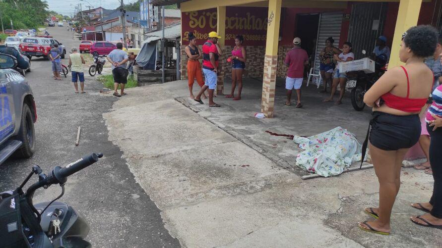Forbino de Carvalho Braga, de 75 anos  foi atingido na cabeça e morreu na hora