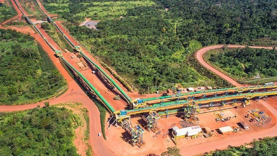 Mina em Canaã dos Carajás, um dos campeões de royalties minerais no Pará