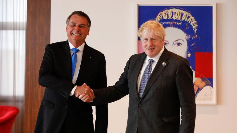 Imagem ilustrativa da notícia: Boris Johson recomenda que Bolsonaro se vacine