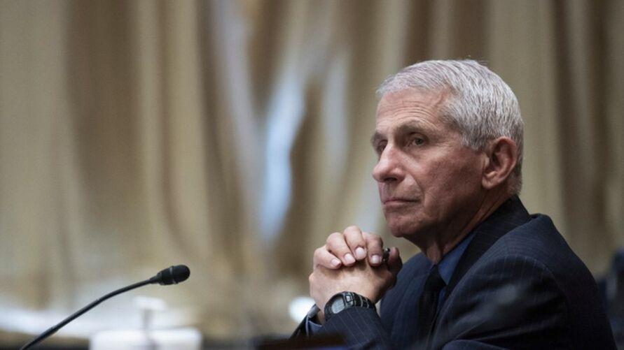 Anthony Fauci, um dos principais conselheiros na área de Saúde do governo de Joe Biden