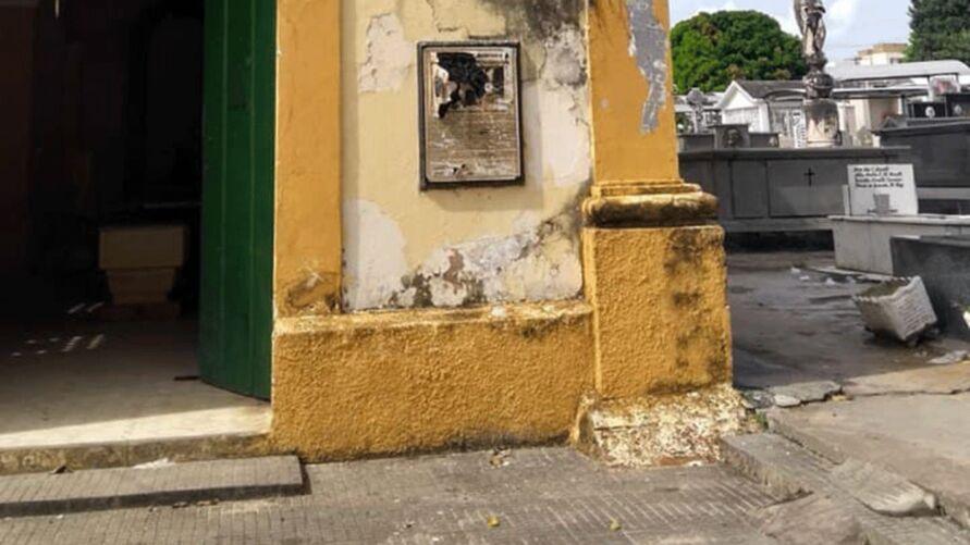 Cemitério Nossa Senhora dos Mártines, centro de Santarém