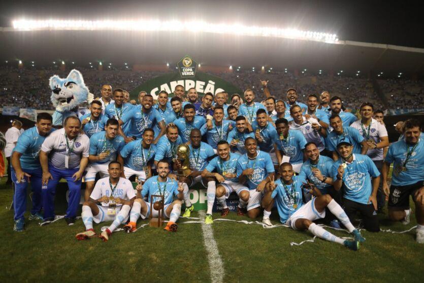 Bicampeão da Copa Verde, Paysandu busca o terceiro título da competição.