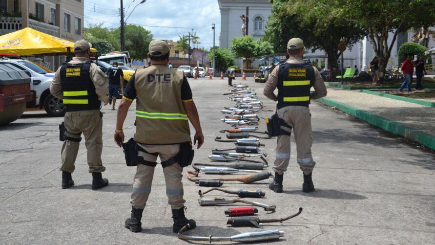 Imagem ilustrativa da notícia: Escapamentos esportivos são destruídos em Bragança