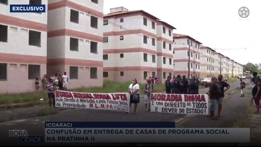 Ocupantes querem respostas da Secretaria de Habitação