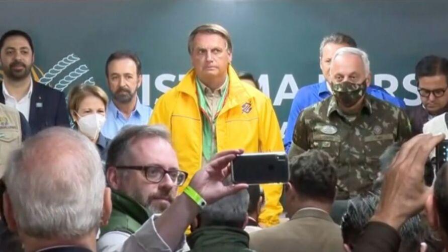 Bolsonaro também minimizou sua participação nos atos de 7 de setembro