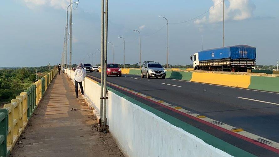 Ponte sobre o rio Itacaiúnas em Marabá