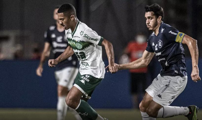 Remo e Guarani empataram em Belém por 0 a 0.