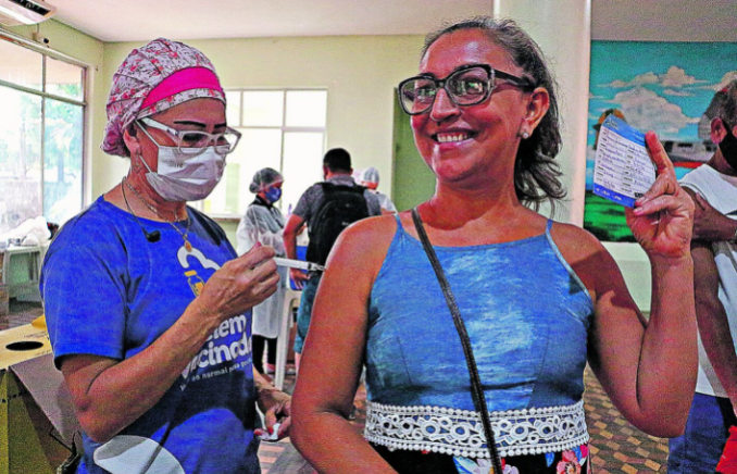 Para se vacinar é preciso apresentar RG, CPF e comprovante de residência de Belém. Estarão abertos para população 26 pontos de vacinação, das 9h às 17h