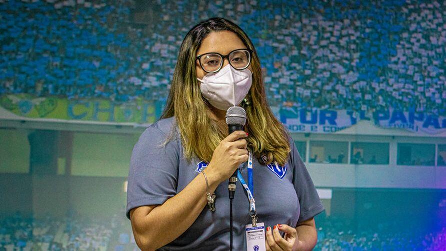 Eveline Maia será a diretora da mulher do Papão