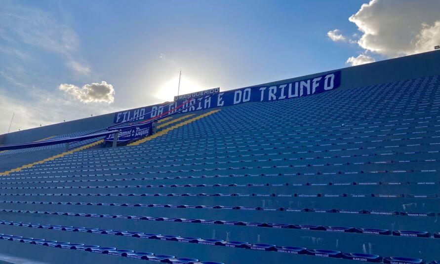 Expectativa para o jogo entre Clube do Remo e Ponte Preta, é de um bom número de torcedores no estádio Baenão.