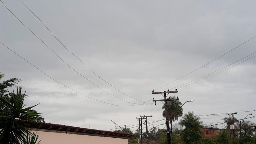 Tempo nublado tem sido frequente nos últimos dias em Marabá