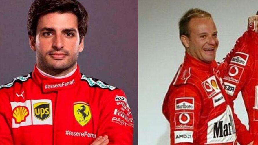 Carlos Sainz, atual piloto da Ferrari na temporada 2021