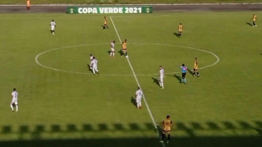 Imagem ilustrativa da notícia: Assista: São Raimundo-RR 1 x 2 Castanhal, na Copa Verde