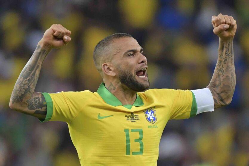 Daniel Alves tem um claro objetivo, que é jogar a Copa do Mundo de 2022.
