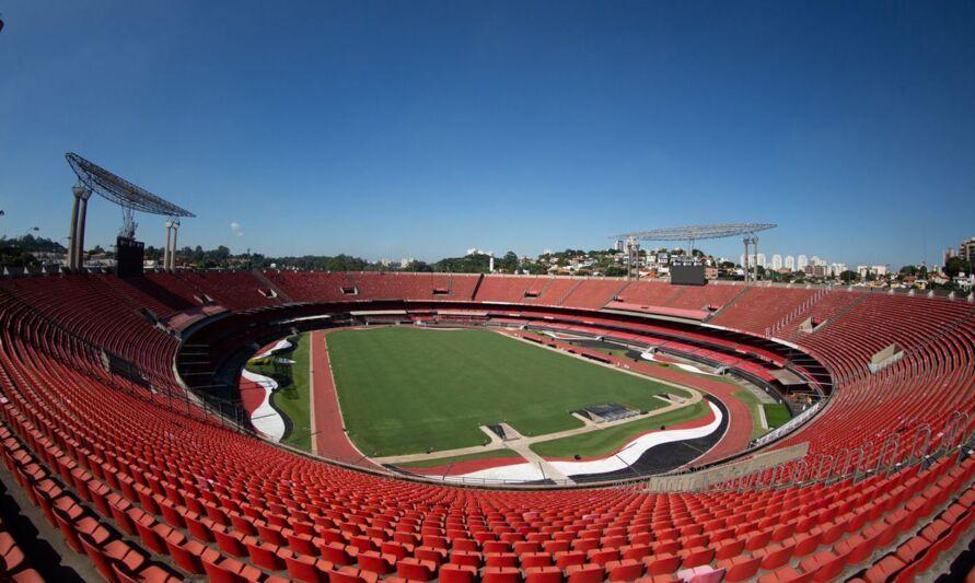 Estádio Cícero Pompeu de Toledo, o Morumbi.