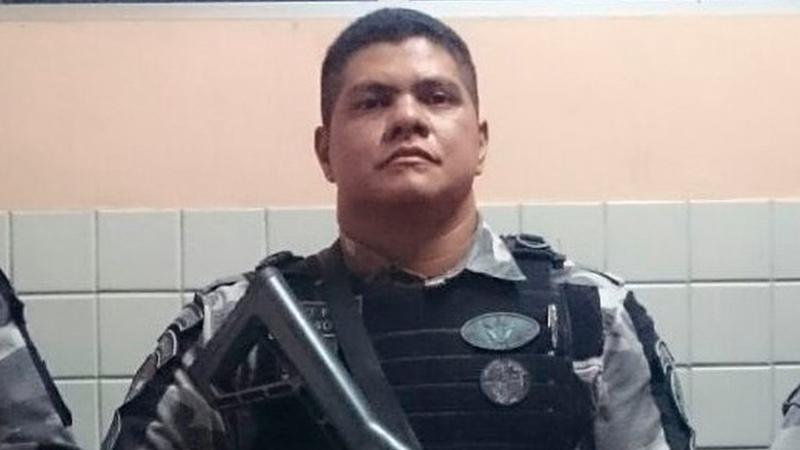 Sargento Gildson Soares, do GTO, encontra-se preso em Belém
