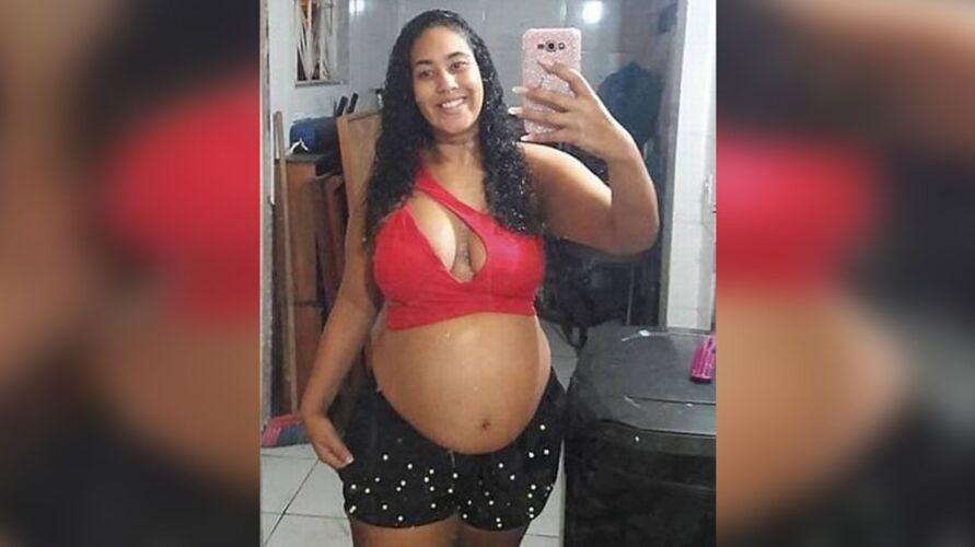 Thaysa Campos dos Santos estava grávida de oito meses. Ela foi encontrada em uma área de matagal, sem o bebê.