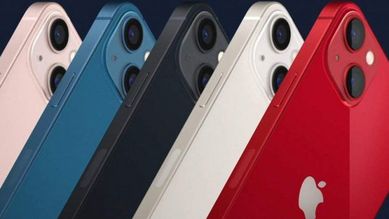 iPhone 13 está disponível em cinco cores e tem sistema de câmera dupla com 12 MP