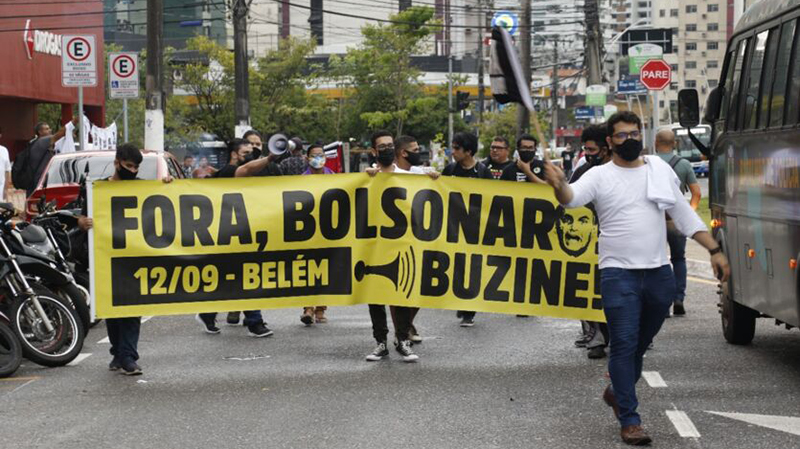 Manifestação ocorreu em Belém e outras capitais