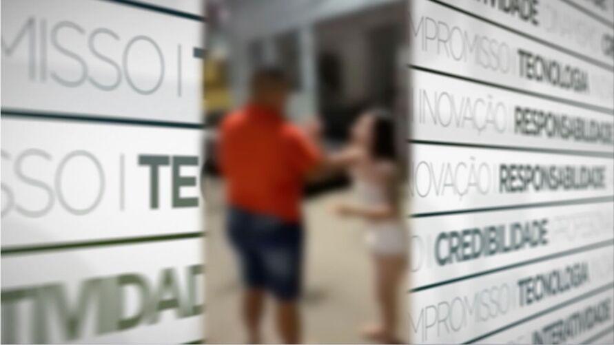 Jovem foi tirar satisfação com o vizinho após ele transferir um PIX de R$ 200.