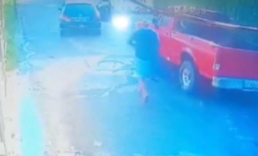 Flagrante de assalto no bairro do Mangueirão