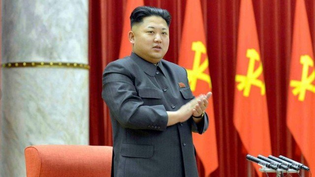 Kim Jong-un, líder supremo da Coréia do Norte