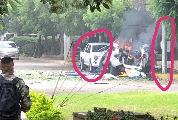 Imagem ilustrativa da notícia: Ataque com carro-bomba fere mais de 30 pessoas na Colômbia