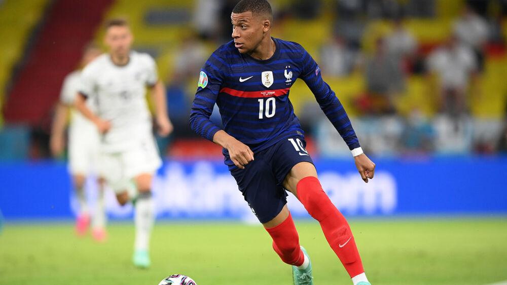 Mbappé foi destaque na vitória da França sobre a Alemanha na Eurocopa