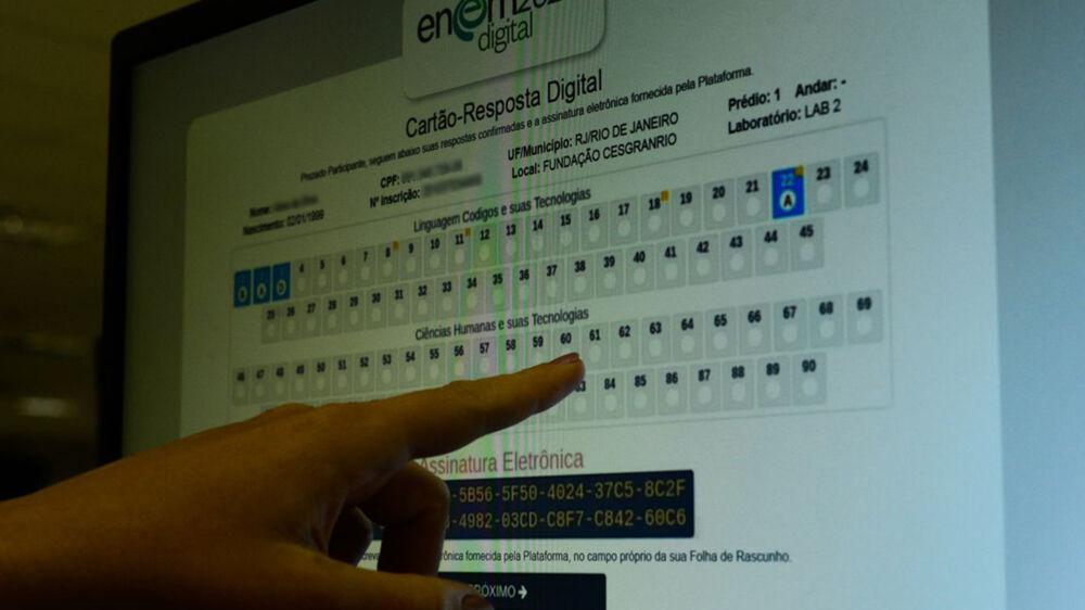 Imagem ilustrativa da notícia: Enem Digital 2021 terá ferramentas de acessibilidade