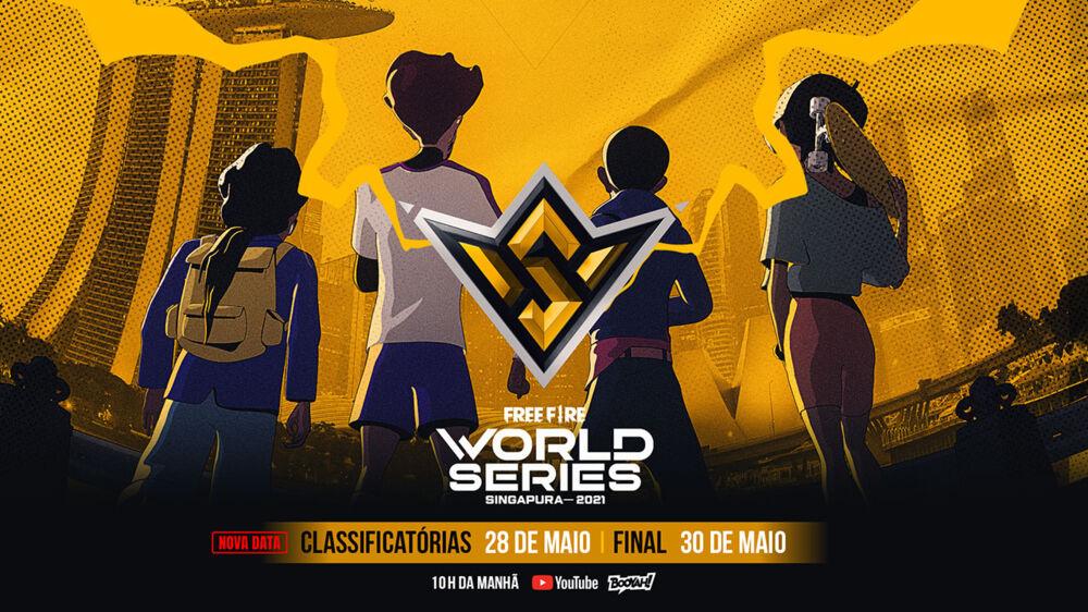 Imagem ilustrativa da notícia: Free Fire World Series 2021 acontece este fim de semana