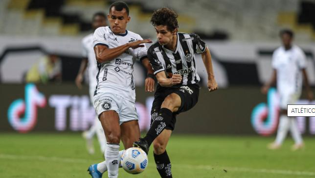 Romércio marcou um golaço na partida contra o Galo.