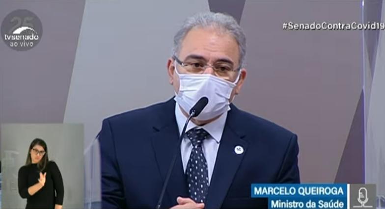 Imagem ilustrativa da notícia: Marcelo Queiroga volta à CPI da Covid; assista ao vivo