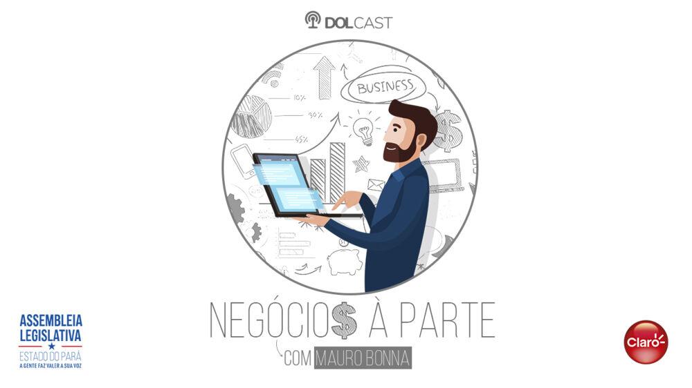 """Imagem ilustrativa do podcast: """"Negócios à Parte"""": Entrevista com Dr. Newton Bellesi"""