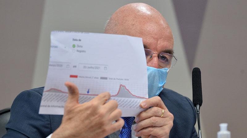 Terra também repetiu argumento bolsonarista de que o STF  retirou as atribuições de Bolsonaro sobre as decisões tomadas na pandemia, jogando a responsabilidade para os governadores
