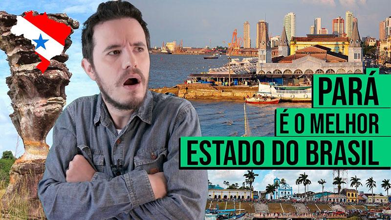 Diogo Elzinga falou sobre o Pará no vídeo