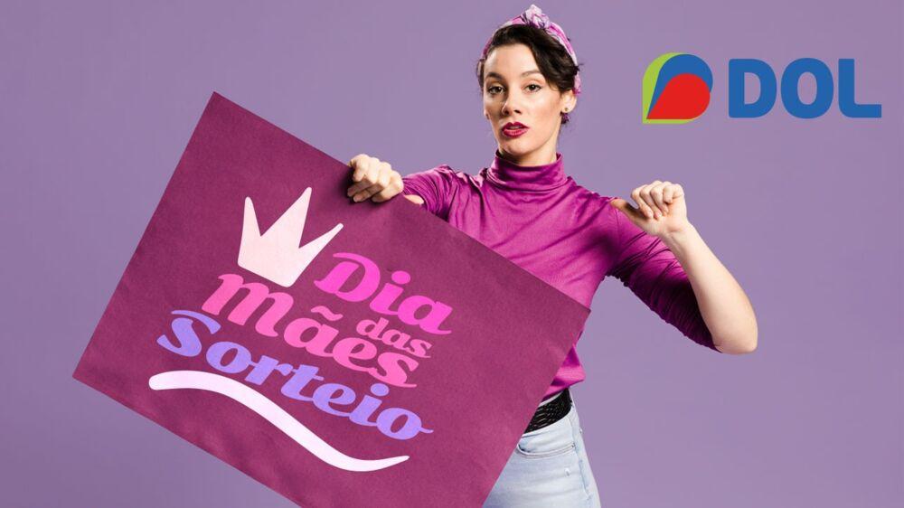 Imagem ilustrativa da notícia: DOL faz mega sorteio para o Dia das Mães; participe!