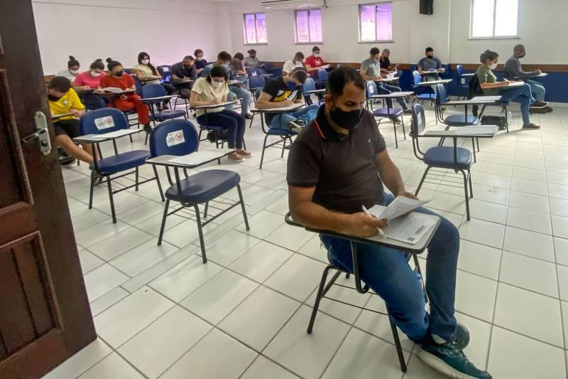 O certame foi realizado em Belém e mais cinco municípios do Estado.