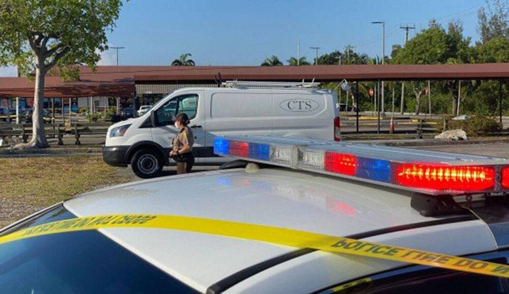 Na chegada, os policiais encontraram 3 pessoas mortas. Uma delas, o próprio atirador